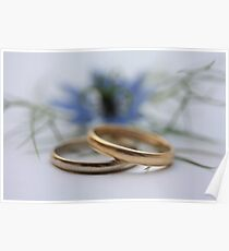 Wedding bands Love in a mist Poster