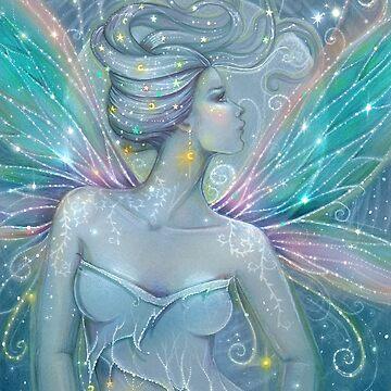 Starry Night Fairy Mystical Fantasy Art Molly Harrison by robmolily