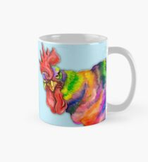 Angry rooster, Year of the Rooster, chicken art Mug