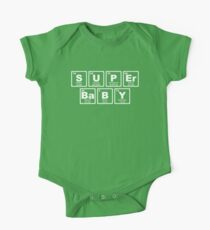 Super Baby - Periodic Table One Piece - Short Sleeve