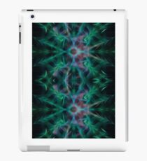 psychedelic fractal mandala patterns  iPad Case/Skin