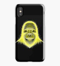 Wacky Yellow Energy Gorilla iPhone Case/Skin