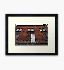 Facade 45 Framed Print