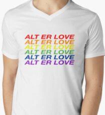 SKAM / ALT ER LOVE Men's V-Neck T-Shirt
