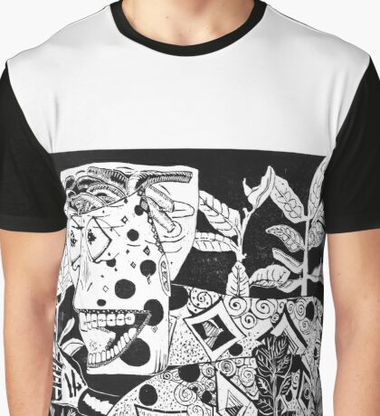 Funky Snake Graphic T-Shirt