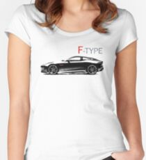 The F-Type Women's Fitted Scoop T-Shirt
