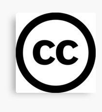 Creative Commons Canvas Print
