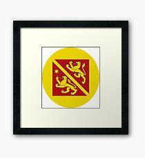 Andelfingen Coat of arms Framed Print