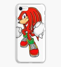 Knuckles from Sonic the Hedgehog iPhone Case/Skin