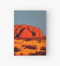 Ayres Rock Bold Abstract Hardcover Journal