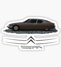 Citroen SM Sticker