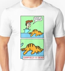 GARFIELD IS DEAD Slim Fit T-Shirt