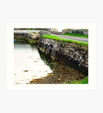 Milk Harbour at low tide, Sligo, Donegal, Ireland Art Print