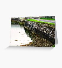Milk Harbour at low tide, Sligo, Donegal, Ireland Greeting Card