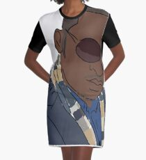 The Artist Portrait Graphic T-Shirt Dress