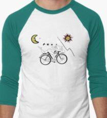 Camiseta ¾ estilo béisbol Día de la bicicleta