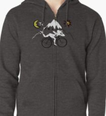 Bicycle Day Zipped Hoodie