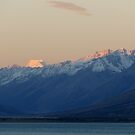 Mount Cook Sunset, New Zealand by Sharon Brown