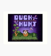 Hunt Duck Custom Size Art Print