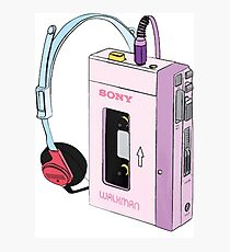 Walkman Photographic Print