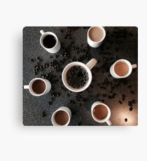 Across the Coffee Spectrum Canvas Print