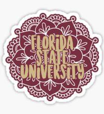 Style 3 - Florida State University Sticker