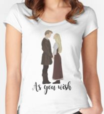 Princess Bride - As You Wish Women's Fitted Scoop T-Shirt