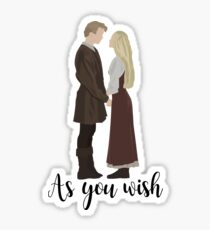 Princess Bride - As You Wish Sticker