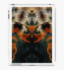 psychedelic futuristic fractal abstract on fire iPad Case/Skin
