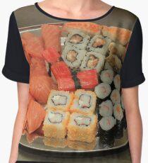Japanese sushi and sashimi Chiffon Top