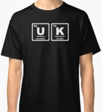 UK - Periodic Table Classic T-Shirt