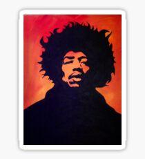 Mr. Hendrix Sticker