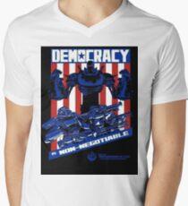 Liberty Prime Men's V-Neck T-Shirt