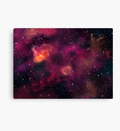 Blood Orchid Galaxy Canvas Print