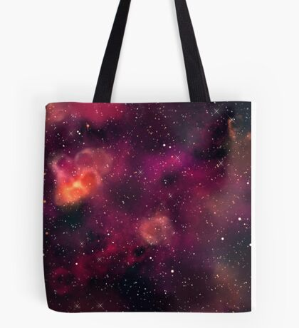 Blood Orchid Galaxy Tote Bag
