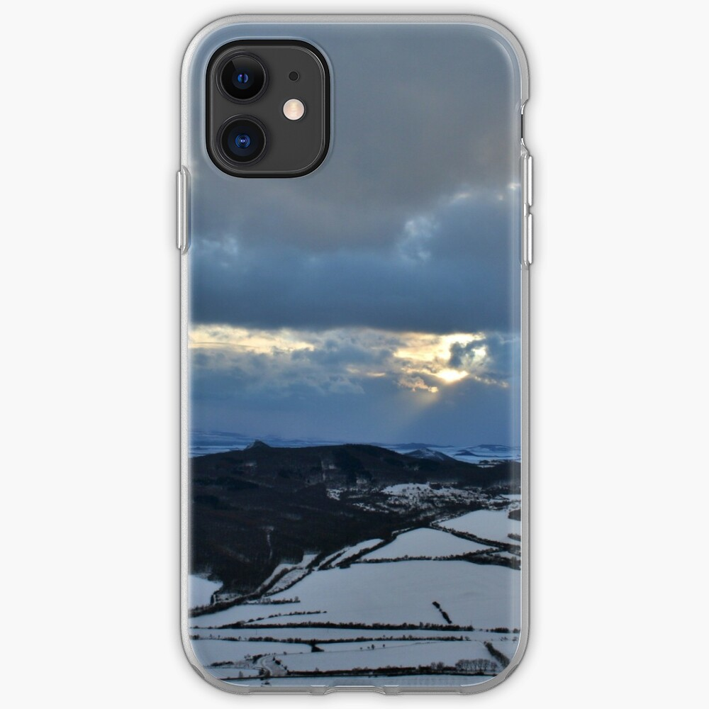 Cloudy evening iPhone Case & Cover