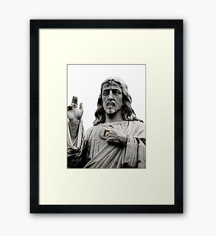 Sacred Heart Jesus Framed Print