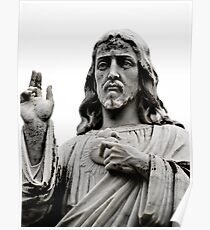 Sacred Heart Jesus Poster