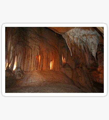 Wombyan Höhlen # 2 Sticker