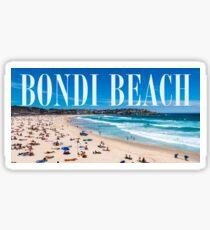 Bondi Beach Address Sticker