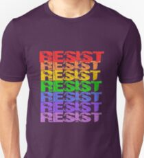 Rainbow Resist Unisex T-Shirt