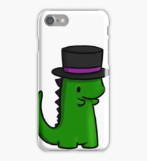 tophat dino iPhone Case/Skin