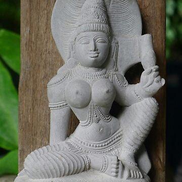 Parvati-Hindu Goddess of Fertility by Langie