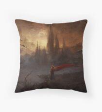 Shadowgate Title Throw Pillow