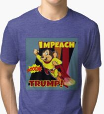 Mighty in Numbers Impeach Tri-blend T-Shirt