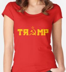 Comrade Trump Women's Fitted Scoop T-Shirt
