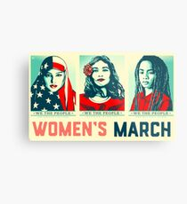 women's march official 2017 Metal Print