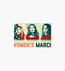 women's march official 2017 Art Board