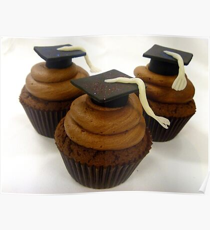 Graduation Cupcakes - By Haydene - NZ Poster