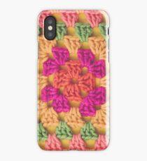 Bright Modern Crochet Background iPhone Case/Skin